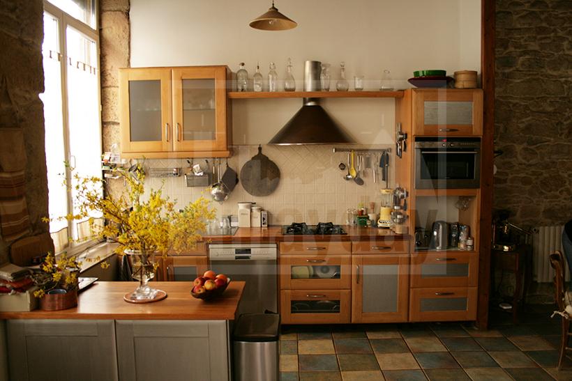 Appartement et atelier d artiste lyon jean0010 agence for Atelier de cuisine lyon