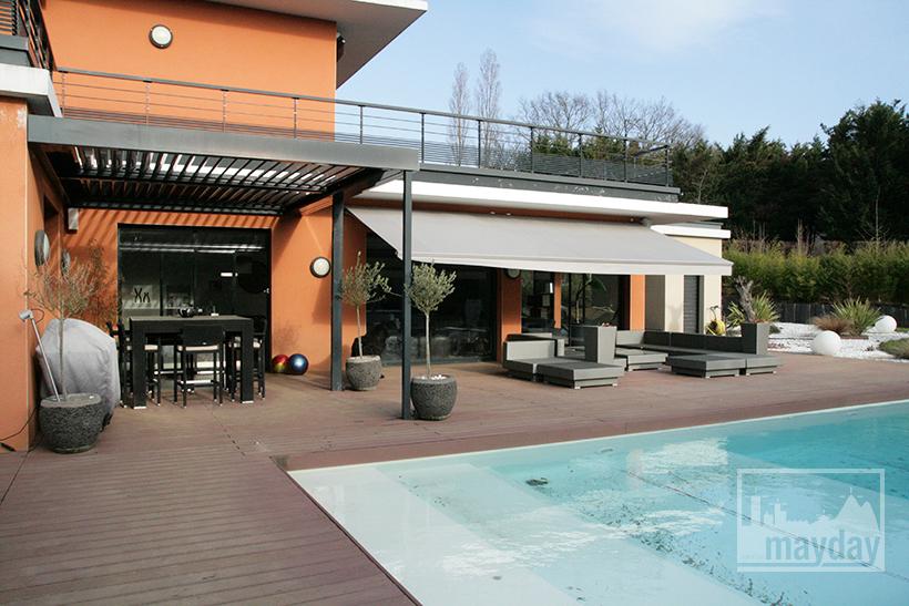 villa moderne on dirait le sud clav0021 agence mayday rep rage de d cors recherche de. Black Bedroom Furniture Sets. Home Design Ideas