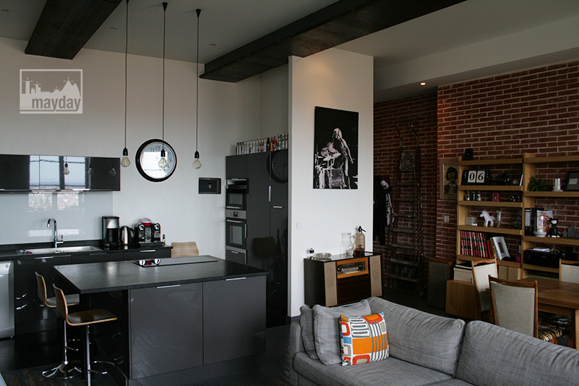 Small loft 50′s with a view over Lyon (jean0023) | Agence Mayday ...