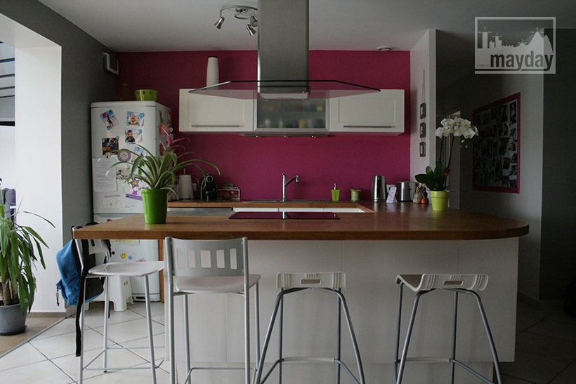 Cuisine Moderne Island Kidkraft : Modern house near Lyon (clav0001)  Agence Mayday, scouting agency