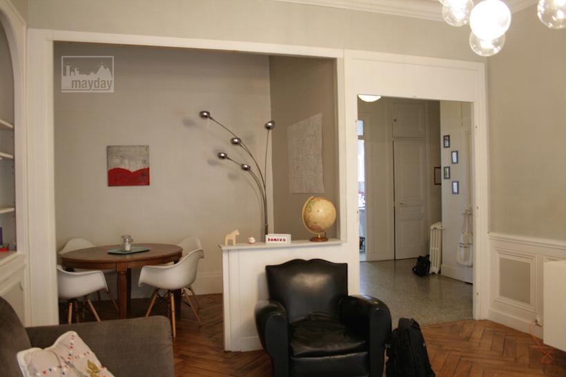 Complètement et à l'extrême Haussmann style cosy flat (jean0024) | Agence Mayday, scouting #BM_34