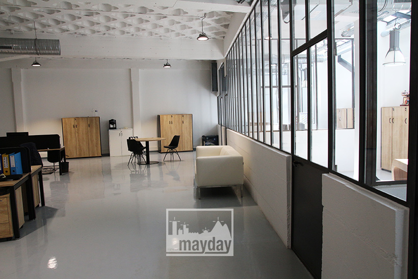Les bureaux modernes lyon clav c agence mayday repérage