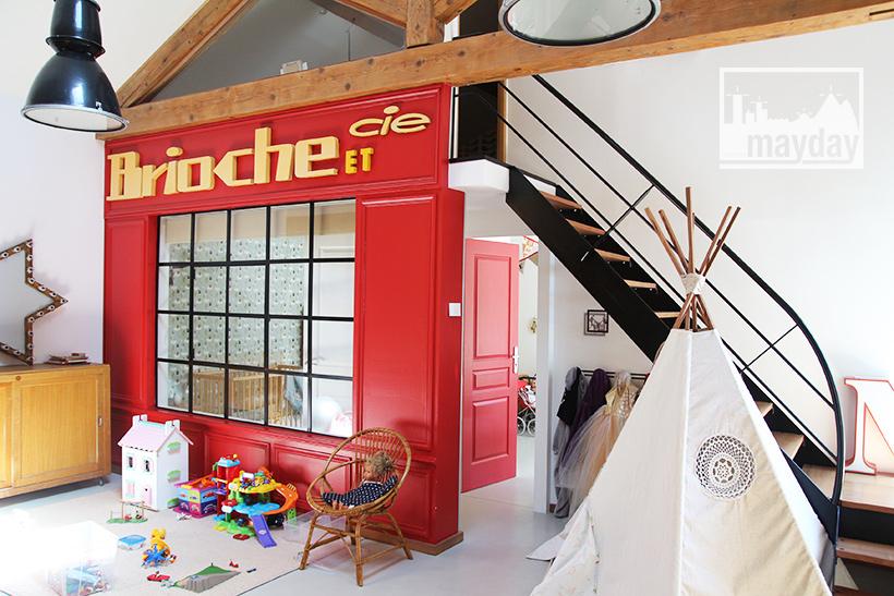 le loft halle grains clav0167 agence mayday rep rage de d cors recherche de d cors. Black Bedroom Furniture Sets. Home Design Ideas